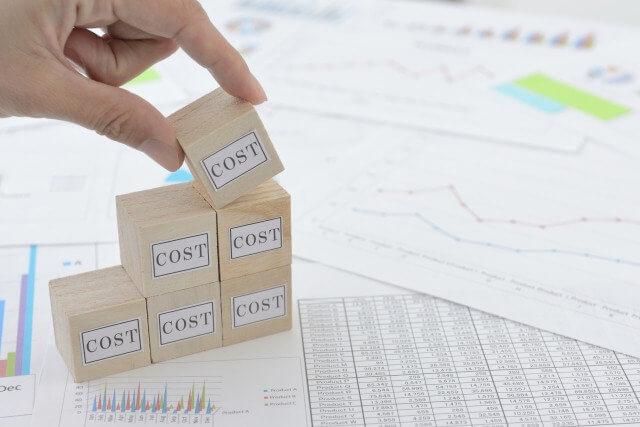 人件費(コスト)を減らすイメージ